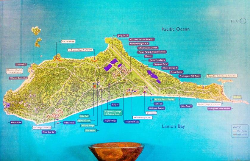 Map of Balesin