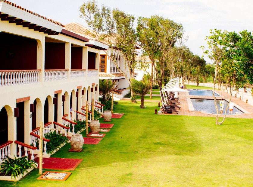 The pool behind Costa del Sol village.