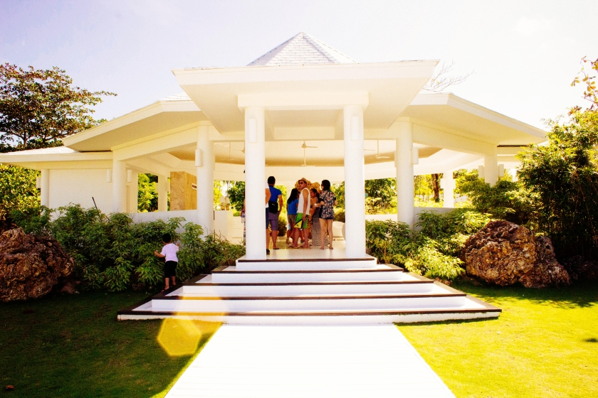 Entrance the the Balesin Spa