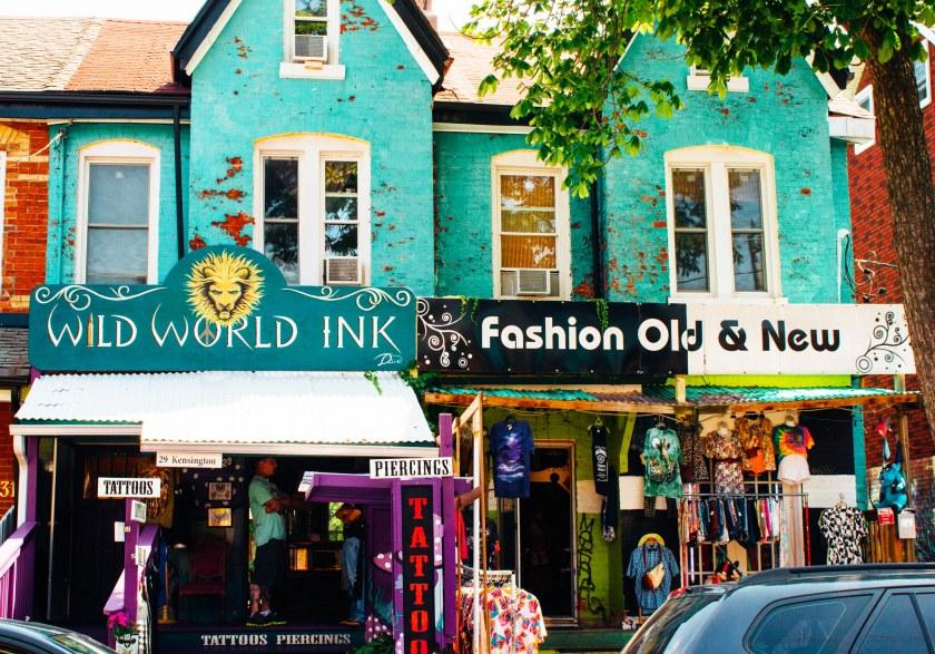 tattoo shop kensington market