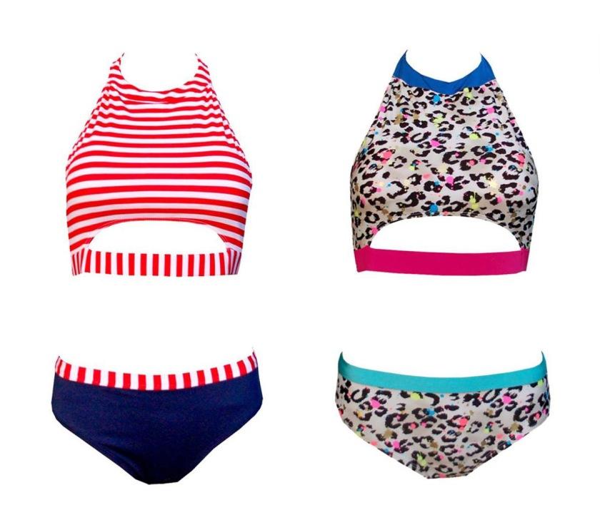 festivalooza retro bikinis