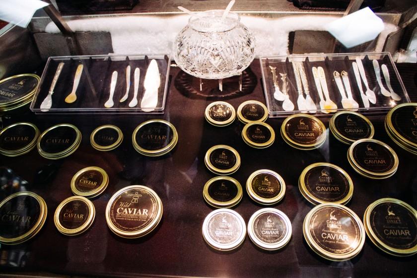 Cutlery for caviar