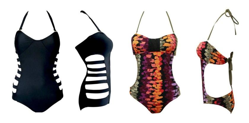 edgy swimwear