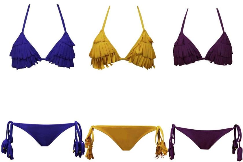 fringe bikinis