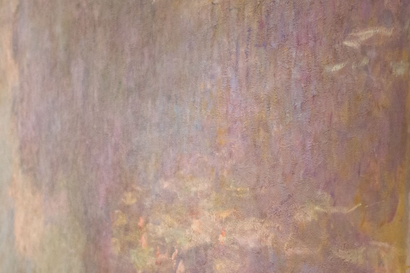 A glimpse of Waterlilies by Monet